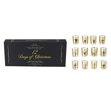 D.L. & Company 12 Days Of Christmas - 12x2.5oz Votives Candle