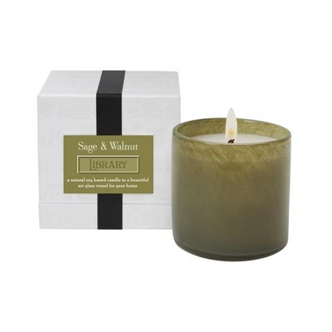 Lafco Library Candle Sage & Walnut 16oz