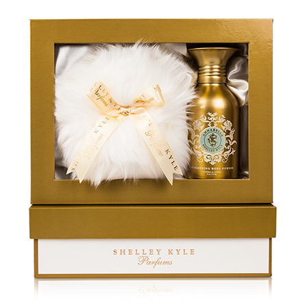 Shelley Kyle Annabelle Shimmer Body Powder with Baby Puff 4oz