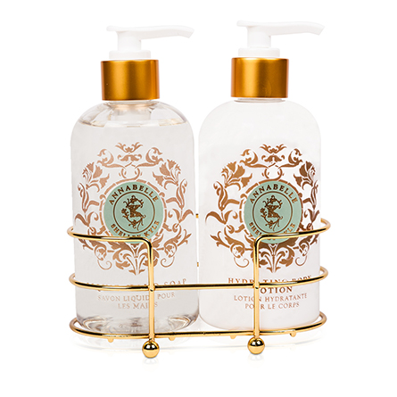 Shelley Kyle Annabelle Two piece Lotion and Liquid Hand Soap Set 8oz
