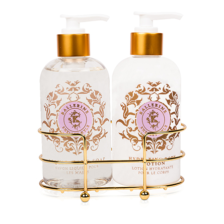 Shelley Kyle Ballerine Two piece Lotion and Liquid Hand Soap Set 8oz