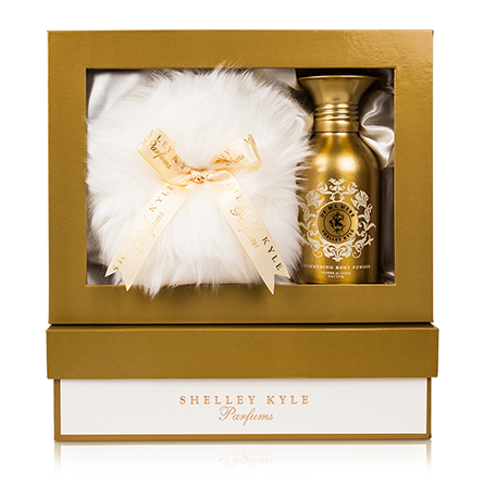 Shelley Kyle De Ma Mere Shimmer Body Powder with Baby Puff 4oz