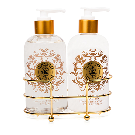 Shelley Kyle De Ma Mere Two piece Lotion and Liquid Hand Soap Set 8oz