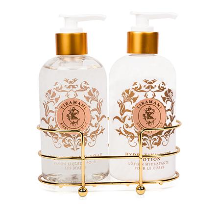 Shelley Kyle Tiramani Two piece Lotion and Liquid Hand Soap Set 8oz