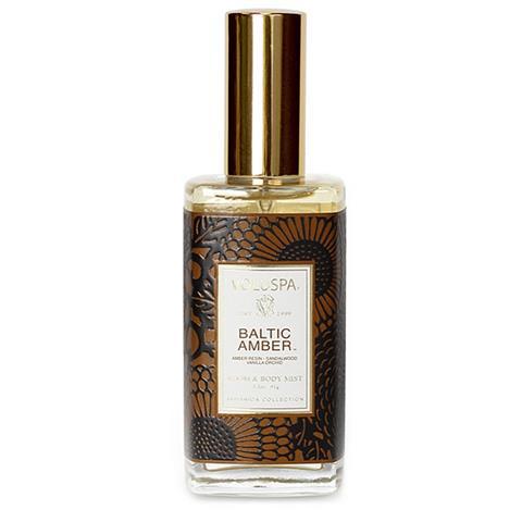 Voluspa Japonica Room & Body Spray Baltic Amber 3.2oz
