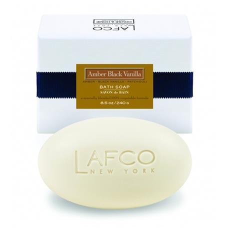 Lafco House & Home Bath Soap Amber Black Vanilla 8.5oz