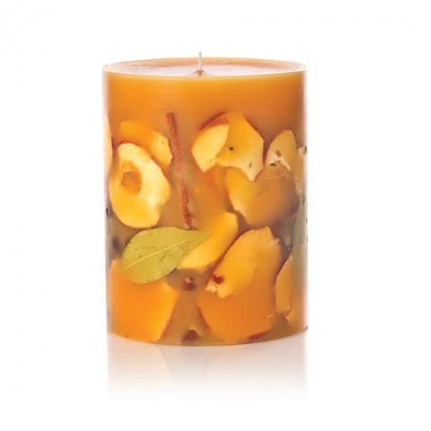 Rosy Rings Fruity Spicy Apple Botanical Candle 6.5