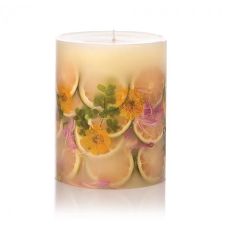 Rosy Rings Citrus Lemon Blossom & Lychee Botanical Candle 6.5