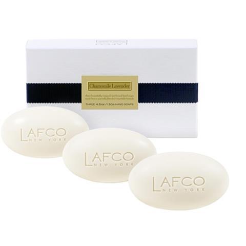 LAFCO 3 Soap Set Chamomile Lavender 4.5 oz/130 gm