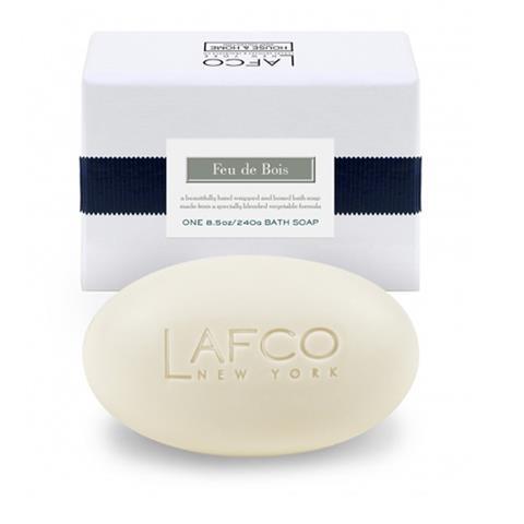 Lafco House & Home Bath Soap Feu De Bois 8.5oz