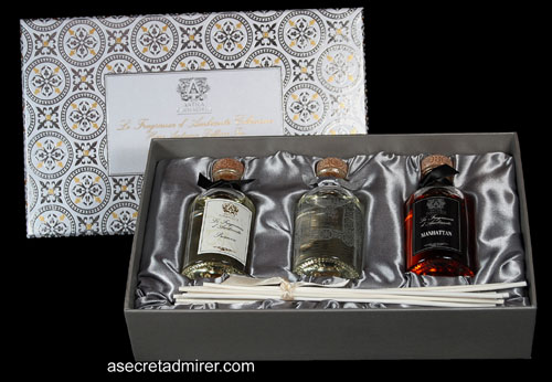 Antica Farmacista - Diffuser Trio Gift Set - Limited Edition Home Ambiance Fragrance Diffusers - 100ml each