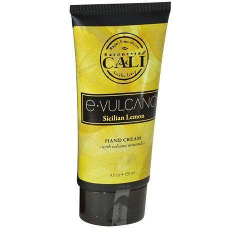 Baronessa Cali E.Vulcano Sicilian Lemon Hand Cream Tube 4 oz