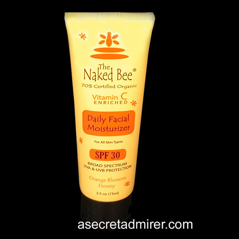 The Naked Bee Daily Facial Moisturizer Vitamin C Enriched 2.5oz