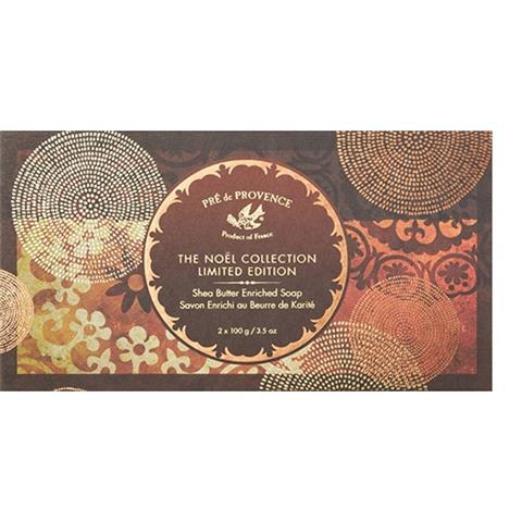 Pre de Provence Noel Collection Gift Box 2 X 3.5oz