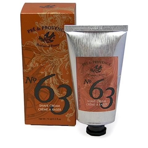 Pre de Provence No. 63 Shave Cream Tube 2.5oz