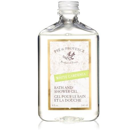 Pre de Provence Bath & Shower Gel White Gardenia 8oz/240ml