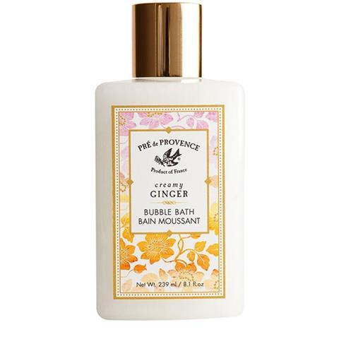 Pre de Provence Bubble Bath Creamy Ginger Body Bath 8.4oz/250ml