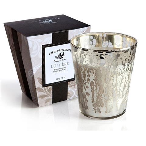 Pre de Provence Lumiere Candle White Gardenia 8oz