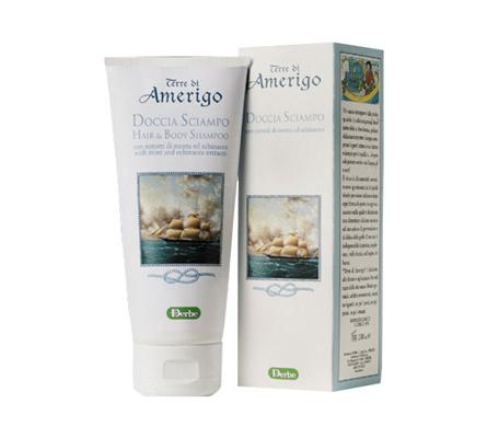 Derbe Amerigo Hair and Body Shampoo 6.5oz
