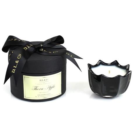 D.L. & Co. Thorn Apple 2oz Scalloped Candle