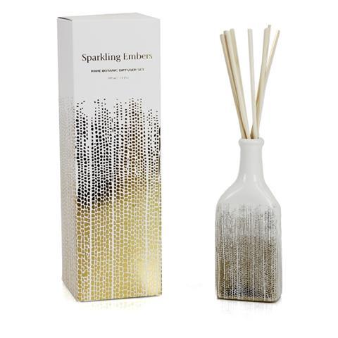 D.L. & Co. White Soleil Diffuser Sparkling Embers 3.4oz