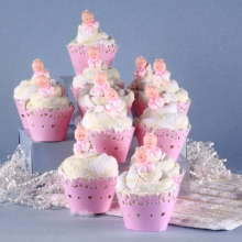 Baby Shower Cupcakes - Girls