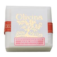 Olivina Honeysuckle Rose Bath Soap 4oz