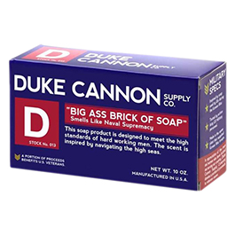 Duke Cannon Big Ass Brick of Soap Blue Bar 10oz