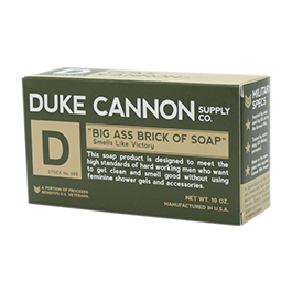 Duke Cannon Big Ass Brick of Soap Green Bar 10oz