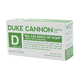 Duke Cannon Big Ass Brick of Soap White Bar 10oz