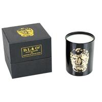 D.L. & Co. Black Delft Skull Tumbler