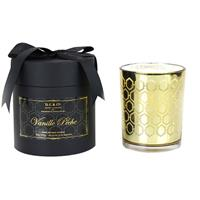 D.L. & Co. Vanille Peche Gold Candle 18oz
