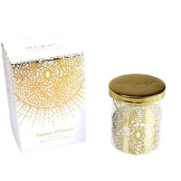 D.L. & Co. White Soleil Candle Essence of Florets 9oz