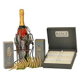 Rance Bottle Holder Gift Basket