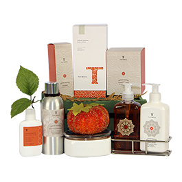 Thymes Lotus Santal Gift Basket