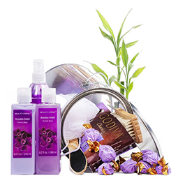Purple Spa Treat Gift Basket