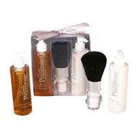 Lady Primrose Royal Extract Essentials Gift Set (Body Brush, 8oz Skin Moisturizer & 8oz Bathing Gel )
