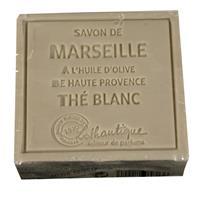 Lothantique Savon de Marseille Soap White Tea 100g/3.5oz