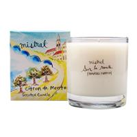 Mistral Sur La Route Menton Citrus Glass Candle 8.8 oz/250G