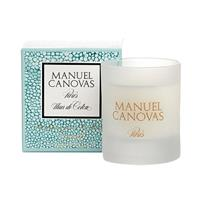 Manuel Canovas Fleur de Coton Medium Candle 4.2oz Approx 40 Hours