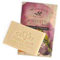 Pre de Provence Private Collection Soap Wild Celery & Tonka Bean 3.8 oz