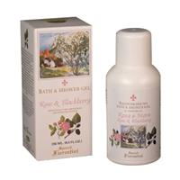 Derbe Speziali Fiorentini Rose & Blackberry Bath and Shower Gel 8.4 oz