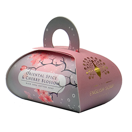 The English Soap Company Luxurious Gift Soap Large Oriental Spice & Cherry Blos 9.2oz