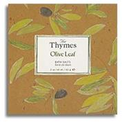 Thymes Olive Leaf Bath Salts 60 G 2oz