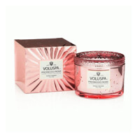 Voluspa Vermeil Corta Maison Boxed Candle Prosecco Rose 11oz