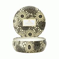 Voluspa Japonica Eden & Pear 3 Wick Candle In Decorative Tin 12oz
