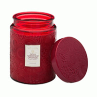 Voluspa Japonica Large Glass Candle Goji Tarocco Orange 16oz