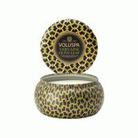 Voluspa Maison Noir 2 Wick Candle Tin Vervaine Olive Leaf 11oz