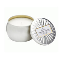 Voluspa Branche Vermeil Mini Decorative Tin Candle 4.5oz