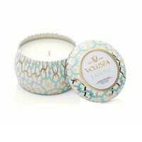 Voluspa Petite Maison Blanc Laguna Mini Decorative Candle 4oz